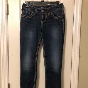 Silver brand Suki skinny jeans